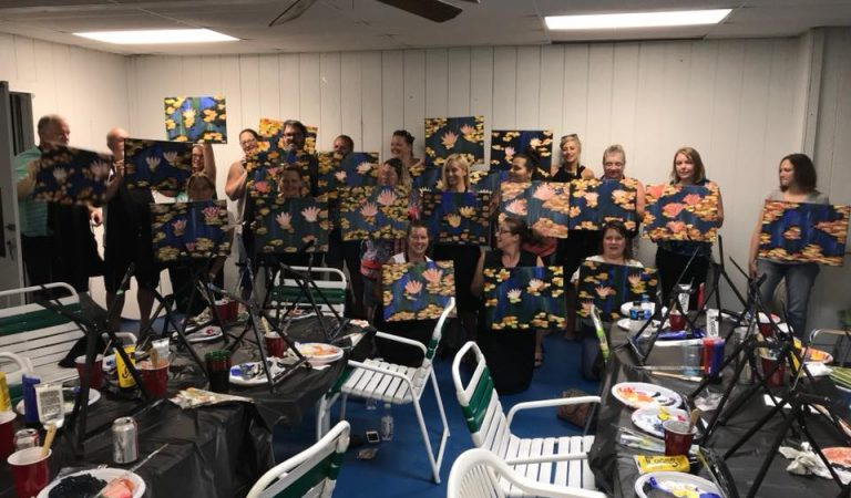 Paint Night 1